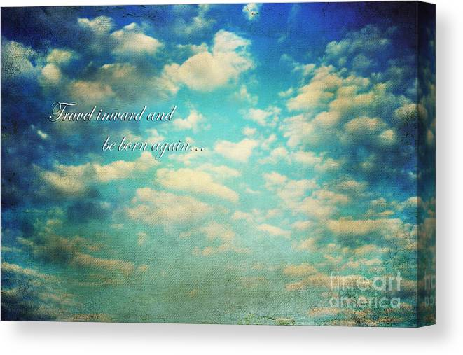 Above Canvas Print featuring the photograph Born Again by Darren Fisher