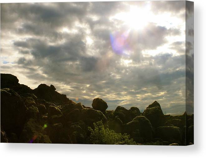 Landscape Canvas Print featuring the photograph Chanted by Ragnheidur