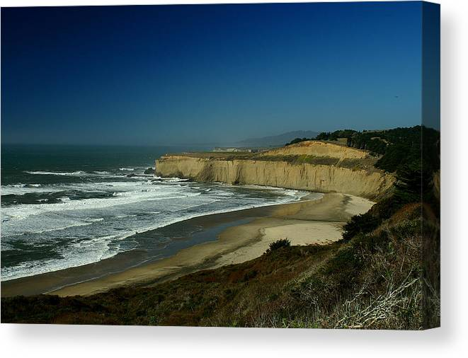 Coast Canvas Print featuring the photograph Coast 1 by David Armentrout