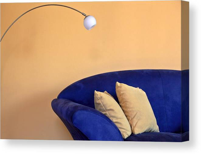Apartment Canvas Print featuring the photograph Couch by Joana Kruse