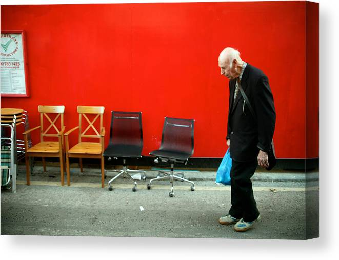 Jezcself Canvas Print featuring the photograph I Have The Time And The Choice by Jez C Self