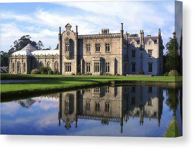 Bray Canvas Print featuring the photograph Kilruddery House And Gardens, Co by The Irish Image Collection