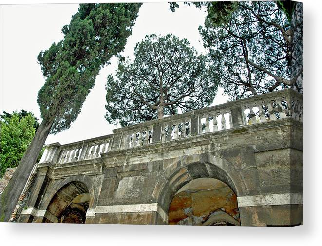 Rome Canvas Print featuring the photograph Old Heights by Jenna Cornell