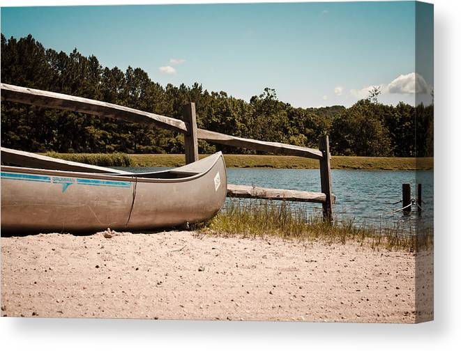 Family Canvas Print featuring the photograph Row Your Boat by Swift Family