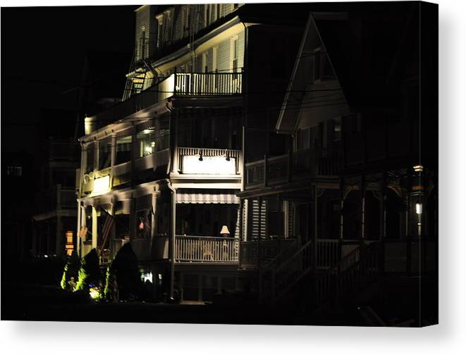 Ocean Grove Canvas Print featuring the photograph The Liligard by Joe Burns