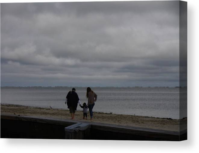 Nature Canvas Print featuring the photograph Three Generations by Loretta Pokorny