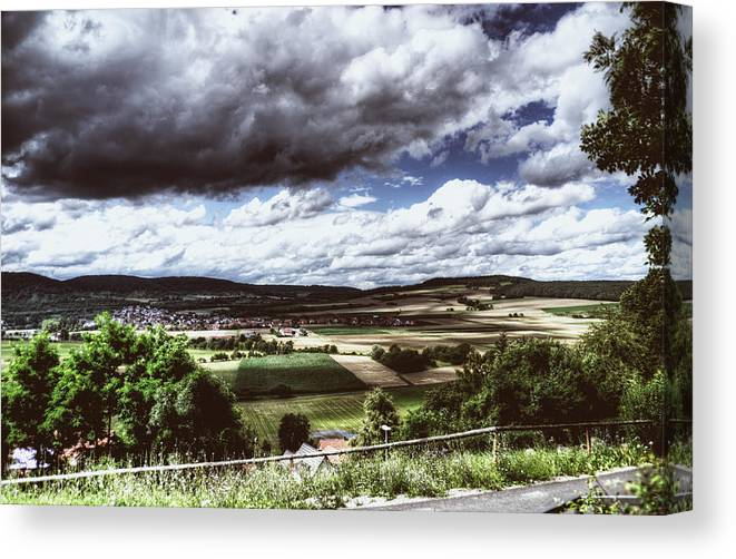 Landscape Canvas Print featuring the photograph Wide Land by Andre Gibson