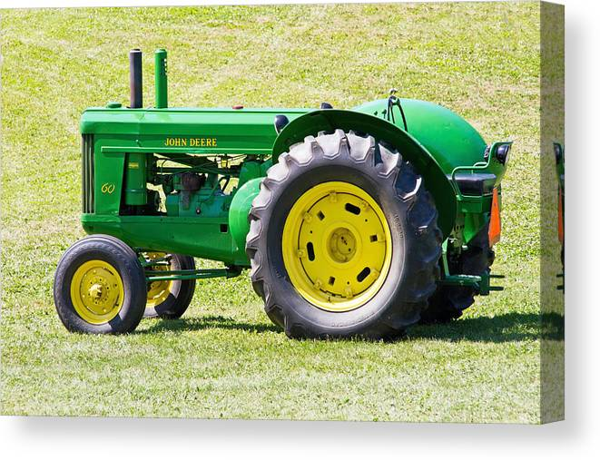 Tractor Canvas Print featuring the photograph Workhorse by Wayne Stabnaw