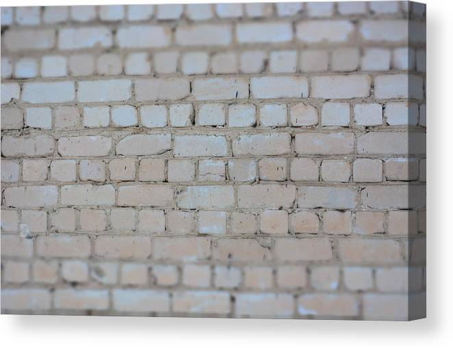 Stone Wall Canvas Print featuring the photograph Stone Wall by Victor Filinkov