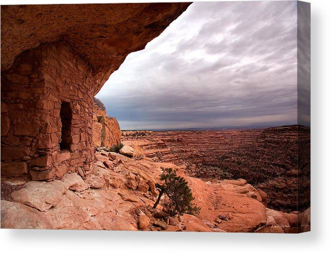 Utah Canvas Print featuring the photograph Ancient Storm by Dan Norris