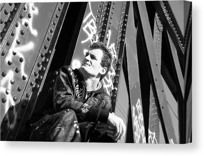 Photographer Canvas Print featuring the photograph In My Thoughts by Jez C Self