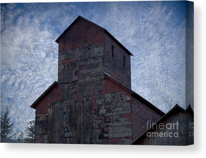 Old Mill Canvas Print featuring the photograph The Old Mill by John Stephens