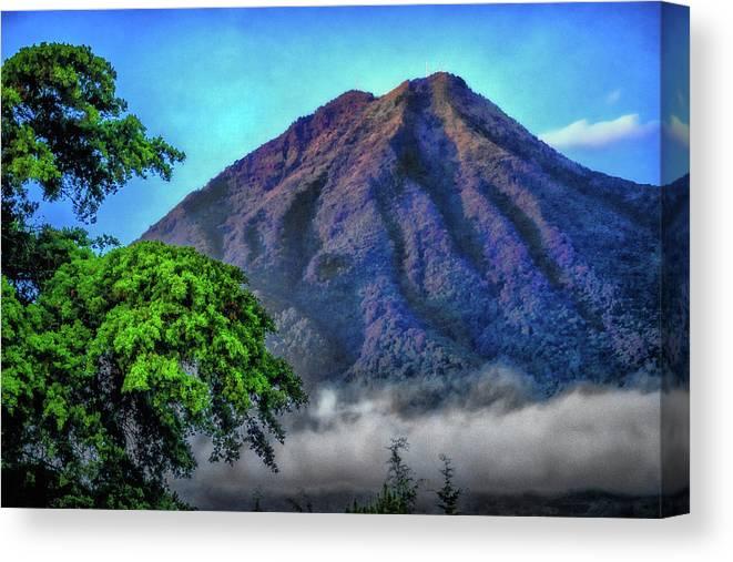 Volcan De Agua Canvas Print featuring the photograph Volcan De Agua, Antigua Guatemala I by Totto Ponce