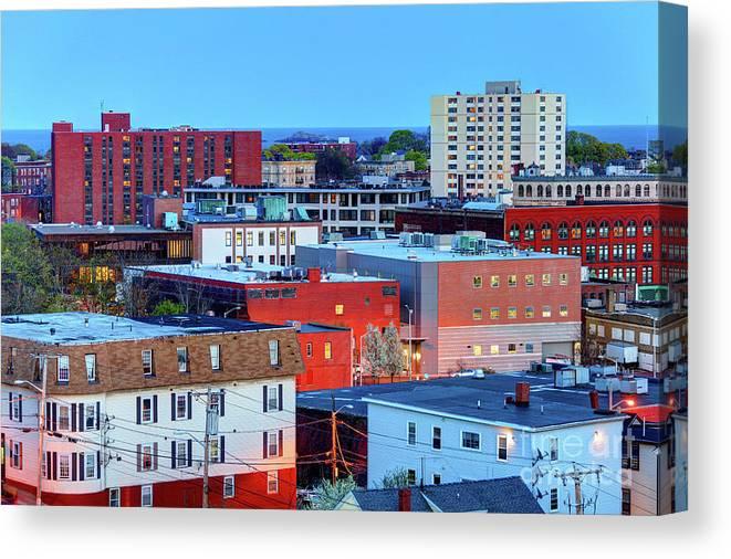 Lynn Canvas Print featuring the photograph Lynn, Massachusetts by Denis Tangney Jr