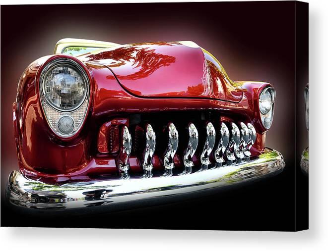 Car Canvas Print featuring the photograph Classic Car by Surjanto Suradji