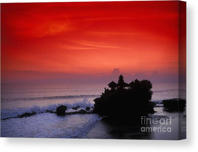 Bali Canvas Print featuring the photograph Indonesia, Bali by Gloria & Richard Maschmeyer - Printscapes