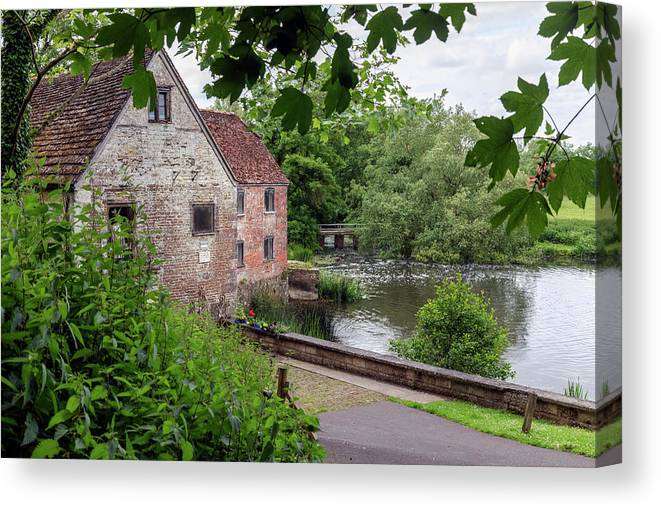 Sturminster Newton Mill Canvas Print featuring the photograph Sturminster Newton Mill - England 3 by Joana Kruse