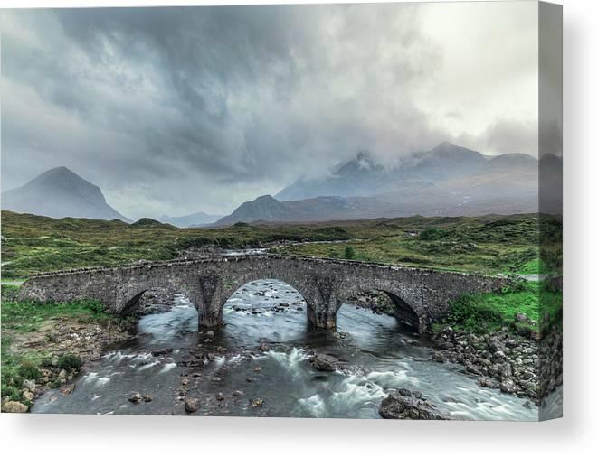 Sligachan Canvas Print featuring the photograph Sligachan - Isle Of Skye by Joana Kruse