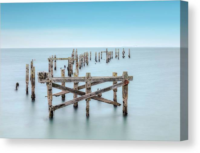 Swanage Canvas Print featuring the photograph Swanage - England by Joana Kruse