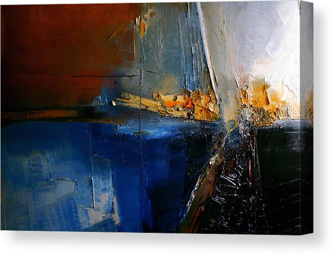 Abstract Canvas Print featuring the painting A Lucid Memory by Stefan Fiedorowicz