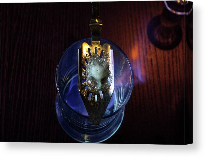 Absinthe Canvas Print featuring the photograph Absinthe In Viet Nam by Samantha Delory