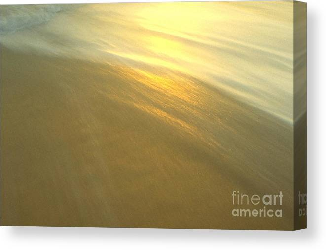 Beach Canvas Print featuring the photograph Abstract Beach by Sven Brogren