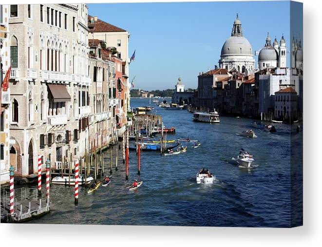 Venice Canvas Print featuring the photograph Ain't It Grand by Pat Purdy