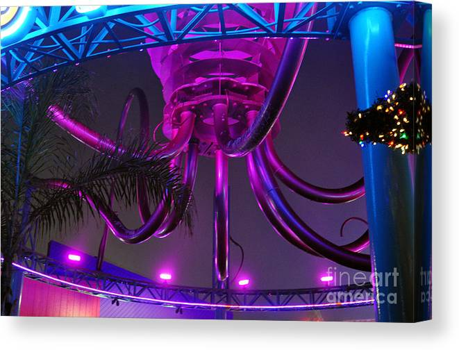 Clay Canvas Print featuring the photograph Alien Ship Or What by Clayton Bruster