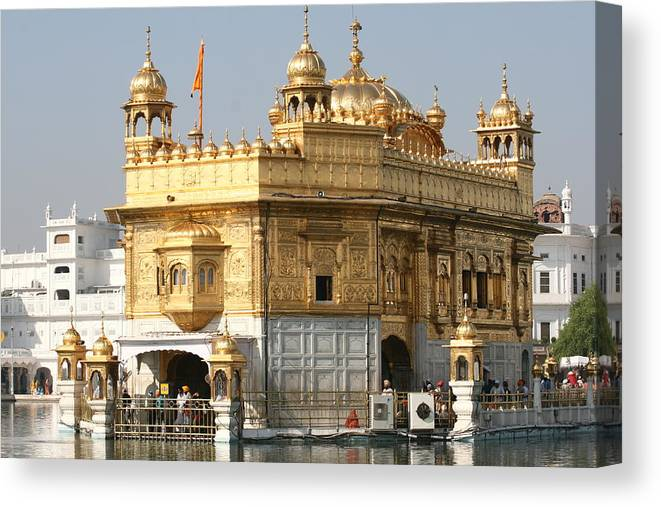India -travel Canvas Print featuring the photograph Amritsar by Andrei Fried
