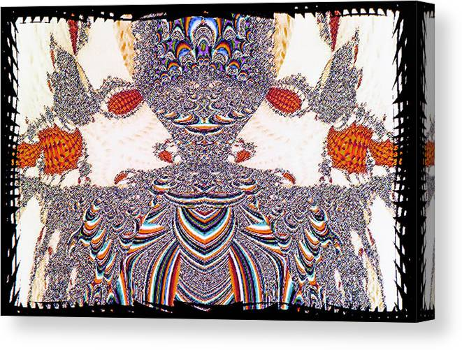 Mistic Canvas Print featuring the photograph Ancient Soldier by Johnny Aguirre