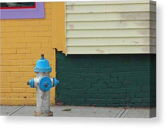 Ar;ington Canvas Print featuring the photograph Arlington Hydrant by Art Ferrier