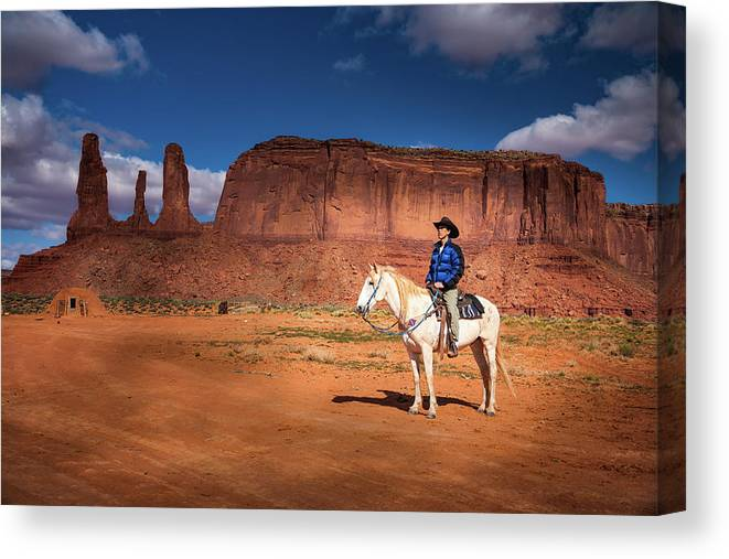 America Canvas Print featuring the photograph Awaiting The Challenge by William Freebilly photography