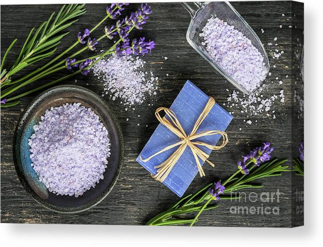 Body Care Canvas Print featuring the photograph Body Care by Elena Elisseeva