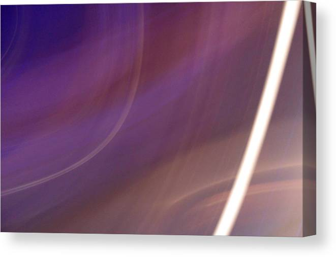 Violet Canvas Print featuring the photograph Breakfast On Jupiter by Ilan and Oxana Aelion