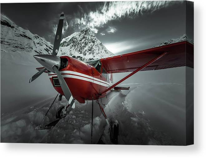 Cessna 185 Skywagon 4 Canvas Print