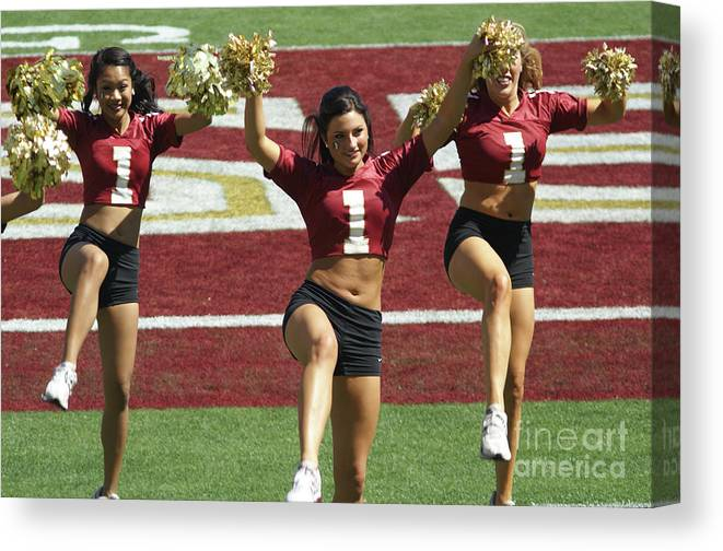 Cheer Canvas Print featuring the photograph Cheer About by Allen Simmons