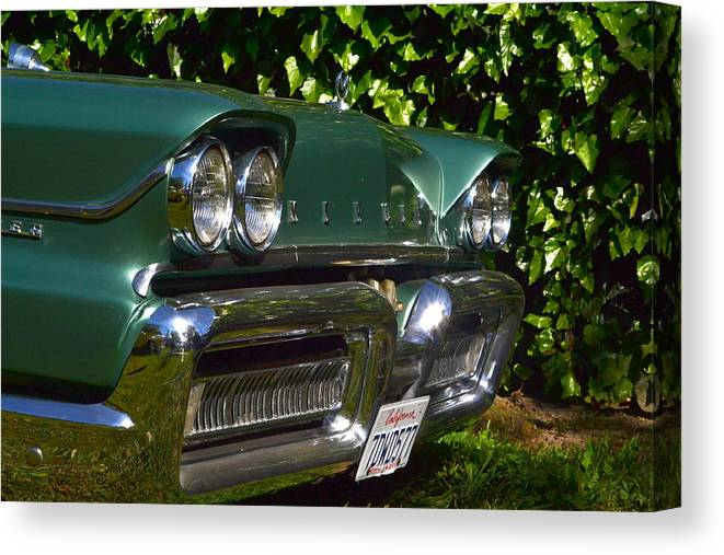 Canvas Print featuring the photograph Classic Chrome by Dean Ferreira