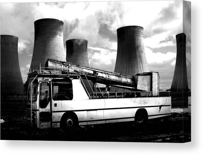 Jez C Self Canvas Print featuring the photograph Climb Aboard by Jez C Self
