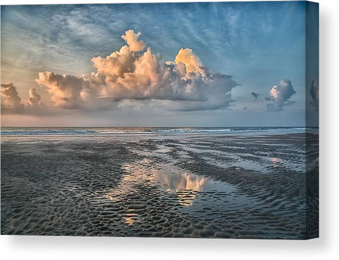 Pawleys Island Canvas Print featuring the photograph Clouds by Christine Martin-Lizzul