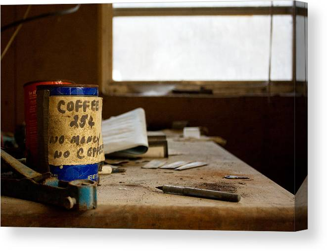 Abandonment Canvas Print featuring the photograph Collections by Kevin Brett