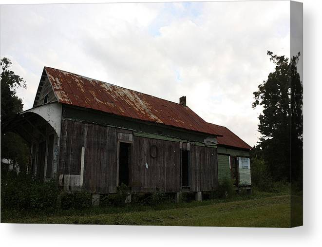 Digital Art Canvas Print featuring the photograph Country Store Two by Paula Coley