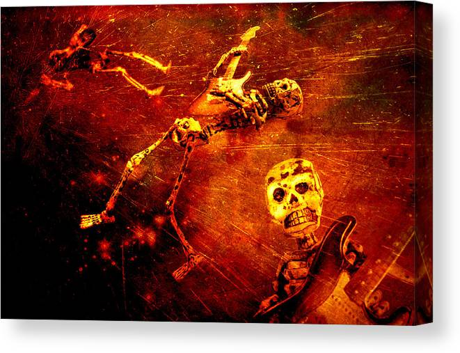 Music Canvas Print featuring the photograph Crescendo by Jeff Gettis