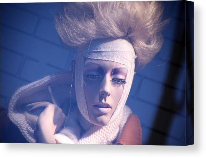 Mannequin Canvas Print featuring the photograph Darcey by Jez C Self