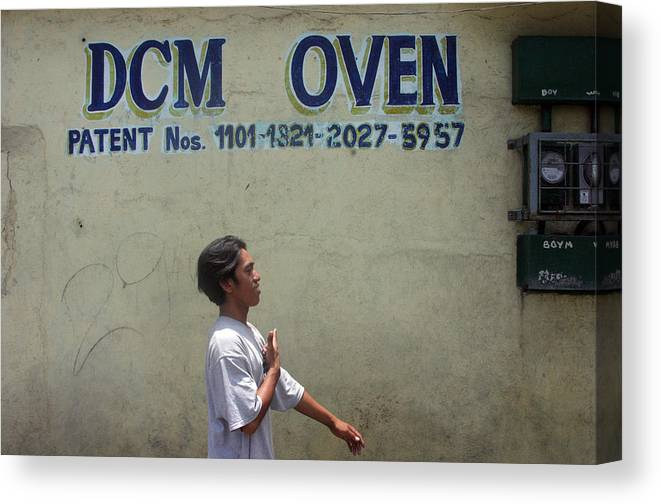 Photographer Canvas Print featuring the photograph Dcm Oven 2 by Jez C Self