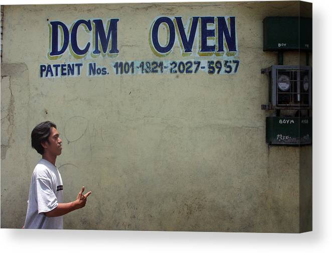 Photographer Canvas Print featuring the photograph Dcm Oven by Jez C Self