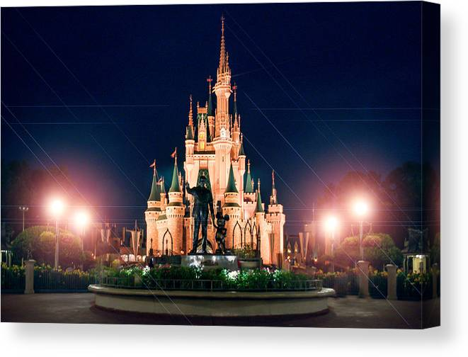 Cinderella Canvas Print featuring the photograph Enjoy The Magic by Ryan Crane
