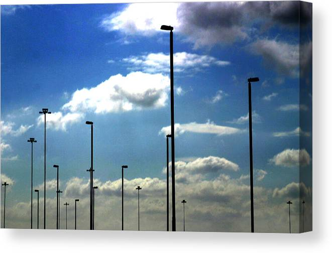 Photographer Canvas Print featuring the photograph Enough Lights by Jez C Self