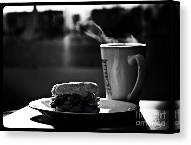 Food Canvas Print featuring the photograph Glorious Morning 2 by Frank J Casella