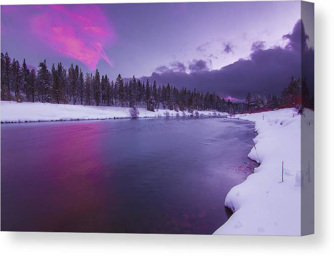 Landscape Canvas Print featuring the photograph Heart Breaker by Jeremy Jensen