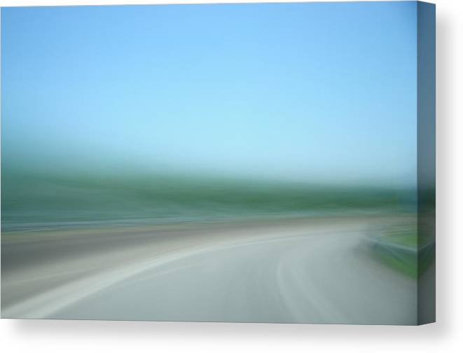 Motion Canvas Print featuring the photograph Highway To Heaven by Hans Kool